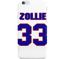 National football player Zollie Toth jersey 33 iPhone Case/Skin