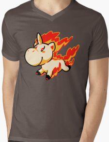 Rapidash! Mens V-Neck T-Shirt