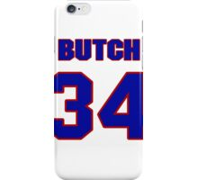 National football player Butch Avinger jersey 34 iPhone Case/Skin