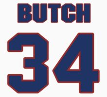 National football player Butch Avinger jersey 34 by imsport