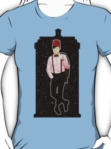 Eleventh Doctor and The TARDIS T-Shirt