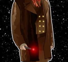 The War Doctor and The TARDIS Sticker