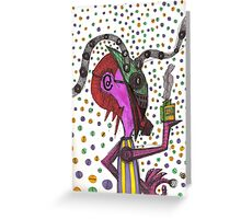 mix flavor Greeting Card