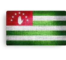Abkhazia Flag Canvas Print