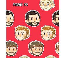 FARGO FX - head cases by Zasha Latief