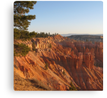 Amphitheaters in Bryce Canyon National Park in Utah, USA Canvas Print