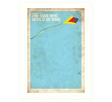 Supernatural 6x20 - The Man Who Would Be King Art Print