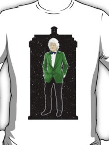 Third Doctor and The TARDIS T-Shirt