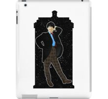 Second Doctor and The TARDIS iPad Case/Skin