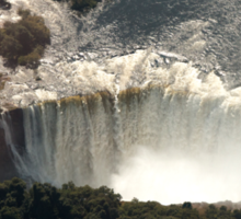 Victoria Falls from the Air 2 Sticker