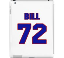 National football player Bill Murray jersey 72 iPad Case/Skin