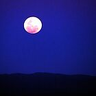 Full Moon Over The Flinders Ranges by marvynmc
