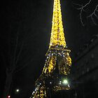 Eiffel Tower by Night by Honor Kyne