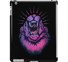 Alpha Lion Alert for Fight iPad Case/Skin