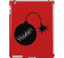 Villain  iPad Case/Skin