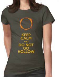 Do not go Hollow Womens Fitted T-Shirt