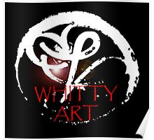 Whitty Icon Poster