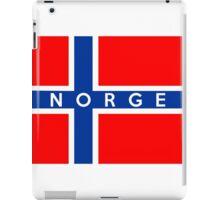 flag of Norway iPad Case/Skin