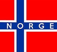 flag of Norway by tony4urban