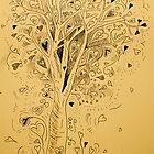Tree of love by Amanda Gazidis