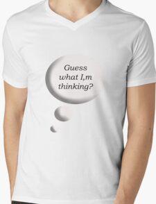 Guess Mens V-Neck T-Shirt