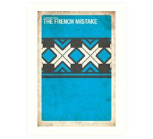 Supernatural 6x15 - The French Mistake Art Print