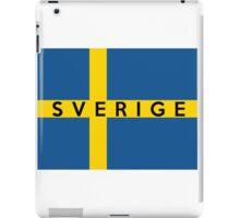 flag of Sweden iPad Case/Skin
