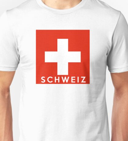 flag of Switzerland Unisex T-Shirt
