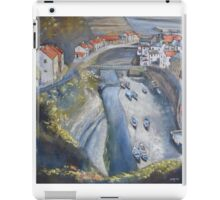 Looking Down, Staithes iPad Case/Skin