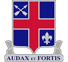 74th Infantry Regiment - AUDAX et Fortis - Bold and Brave Photographic Print
