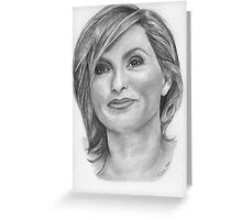 Mariska Hargitay Greeting Card