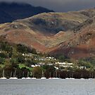 Coniston from Brantwood by Chris Monks