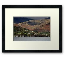 Coniston from Brantwood Framed Print