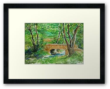 Danielle Fuchs' Bridge, Moulin De Perrot by lizzyforrester