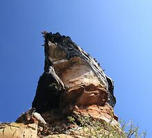the only rock is up by CocoDorrance