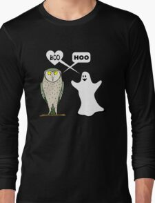 Ghostly valentine Long Sleeve T-Shirt