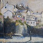 Staithes in the Pink by Sue Nichol