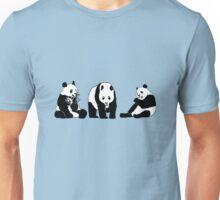Funny panda party Unisex T-Shirt