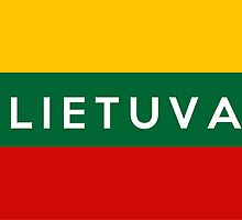 flag of lithuania by tony4urban