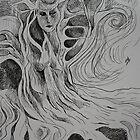 She harbours. by Amanda Gazidis