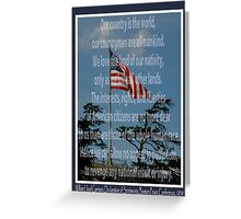 Declaration Of Sentiments Greeting Card