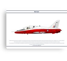 Hawk GB 1 Canvas Print