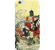 The Battle In The Harbor iPhone Case/Skin