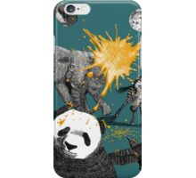 Inked animals iPhone Case/Skin