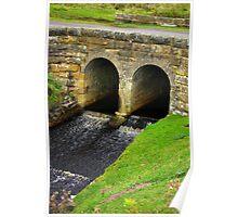 Ousegill Bridge - North York Moors Poster