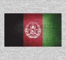 Afghanistan Flag by Nhan Ngo