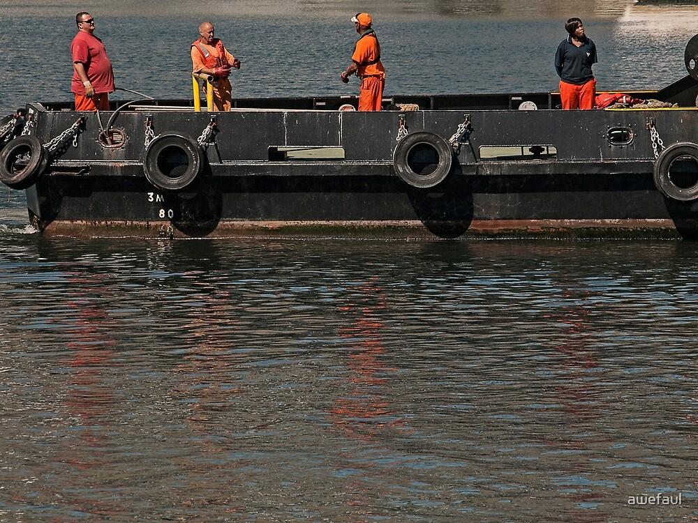 Tugboat ready to tug by awefaul