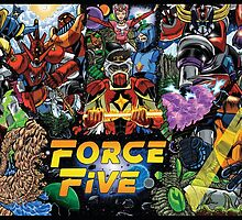 The Force Of Five by fbwash70