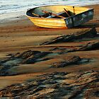Boat Beached by Sharon Davey