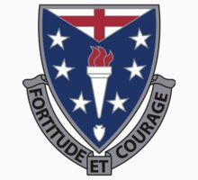 104th Infantry Regiment - Fortitude Et Courage - Fortitude And Courage by VeteranGraphics